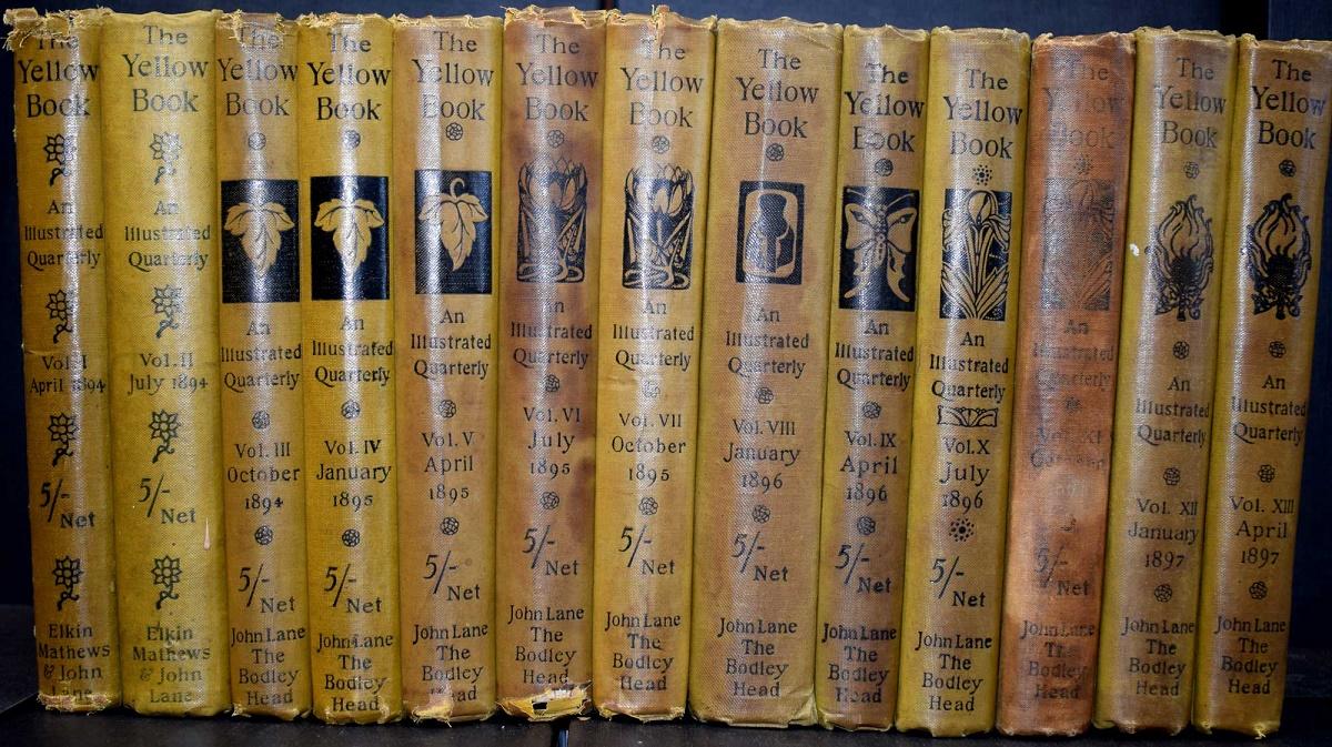 BEARDSLEY  AUBREY  HENRY JAMES  KENNETH GRAHAME  MAX BEERBOHM  GEORGE    Aubrey Beardsley The Yellow Book