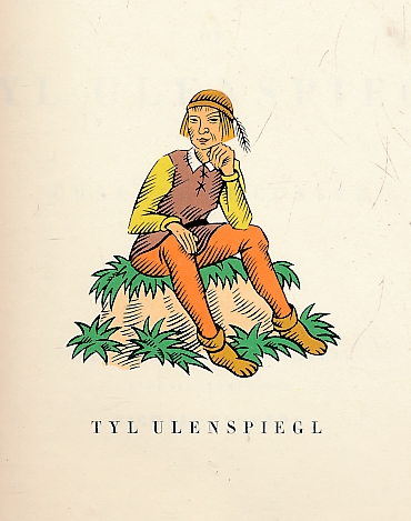 DE COSTER, CHARLES; FLOETHE, RICHARD [ILLUS.]; MACDOUGALL, ALLAN ROSS [TRANSL.] - The Glorious Adventures of Tyl Ulenspiegl. Signed Limited Edition