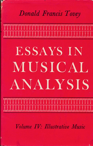essays on musical analysis tovey Drawn from the well-known musicologist's celebrated essays in musical analysis, this volume depth essays on tovey's essays in musical analysis ranks among.