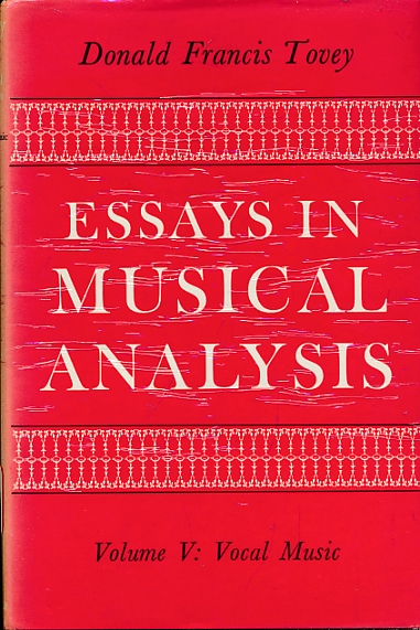 essays in music analysis