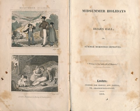 [FINCH, CATHERINE]? - Midsummer Holidays at Briar's Hall; or, Summer Mornings Improved