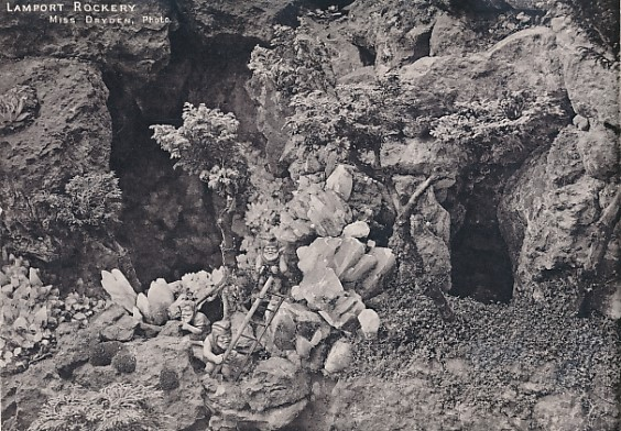 [ISHAM, CHARLES E] - Notes on Gnomes and Remarks on Rock Gardens. The Lamport Rockery
