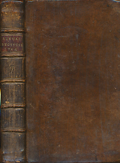 [BURKE, EDMUND] - The Annual Register. Or a View of the History, Politicks, and Literature for the Year 1764
