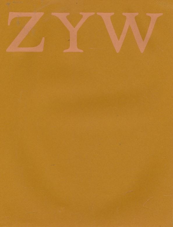 THE SCOTTISH ARTS COUNCIL - Aleksander Zyw. A Retrospective Exhibition of Paintings 1941-1971