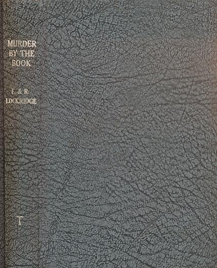 LOCKRIDGE, FRANCES & RICHARD - Murder by the Book
