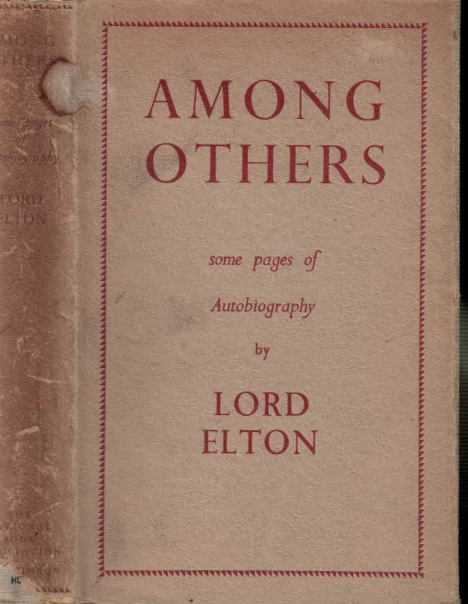 ELTON - Among Others. Some Pages of Autobiography