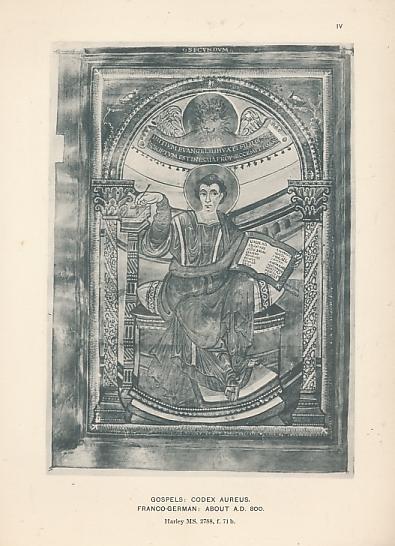 BRITISH MUSEUM - British Museum: Reproductions from Illuminated Manuscripts. Series 3