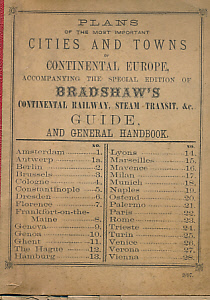 barter books bradshaw plans of the most important cities and rh barterbooks co uk bradshaw's continental railway guide pdf bradshaw continental railway guide