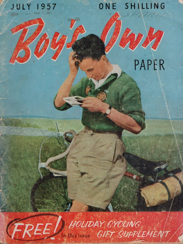 LEYLAND, ERIC; CATHERALL, ARTHUR; &C - Boy's Own Paper. Volume 79, No 10, July 1957