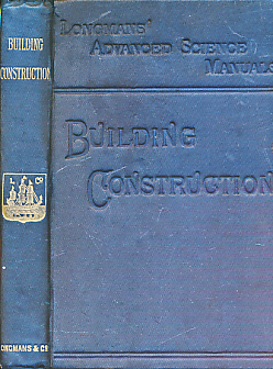 EDITOR - Advanced Building Construction. A Manual for Students