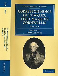 CORNWALLIS, CHARLES; ROSS, CHARLES [ED.] - Correspondence of Charles, First Marquis Cornwallis. Volume 2