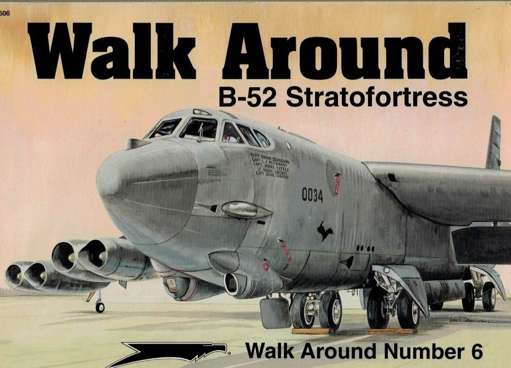 DRENDEL, LOU - B-52 Stratofortress. Walk Around Number 6