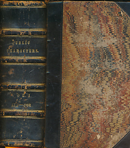 EDITOR - Public Characters of All Nations. Volume 1 Only