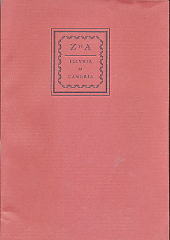 L C P [POWELL, LAWRENCE CLARK] - Z to A. Travel Notes from Illyria to Cambria