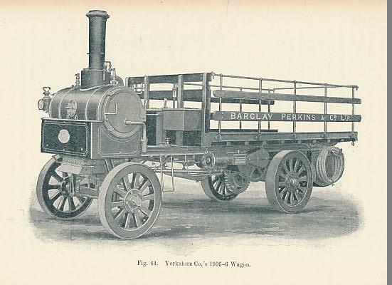NORRIS, WILLIAM - Modern Steam Road Wagons