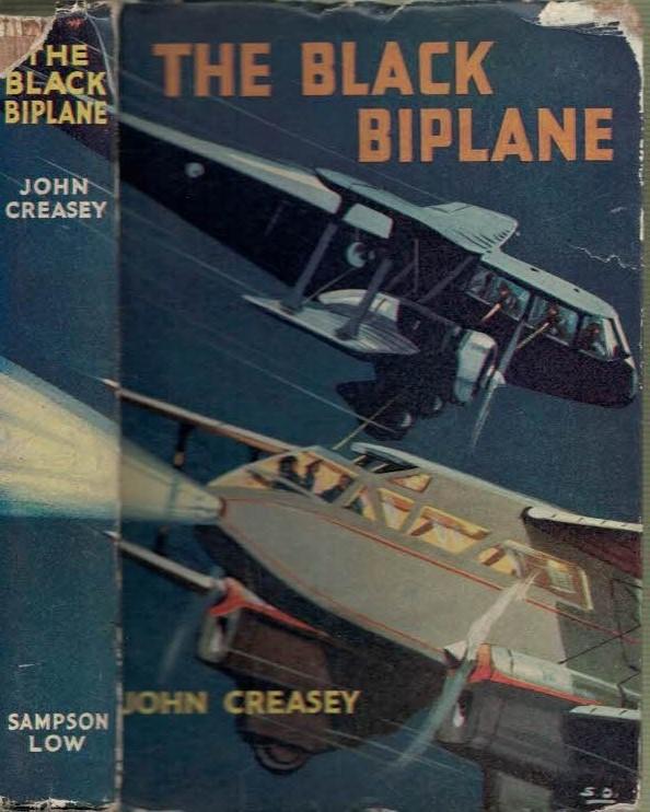 CREASEY, JOHN - The Black Biplane