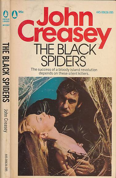 CREASEY, JOHN - The Black Spiders [Department Z]