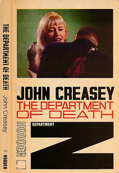 CREASEY, JOHN - The Department of Death [Department Z]
