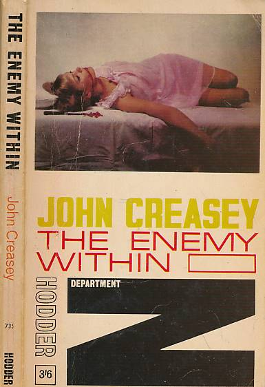 CREASEY, JOHN - The Enemy Within [Department Z]