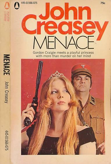 CREASEY, JOHN - Menace [Department Z]