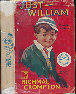 CROMPTON, RICHMAL; HENRY, THOMAS [ILLUS.] - Just William. William No. 1