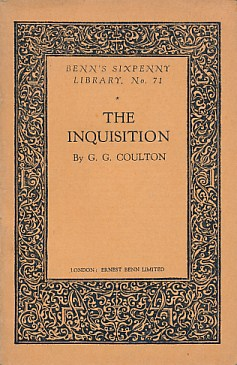 COULTON, G G [GEORGE GORDON] - The Inquisition