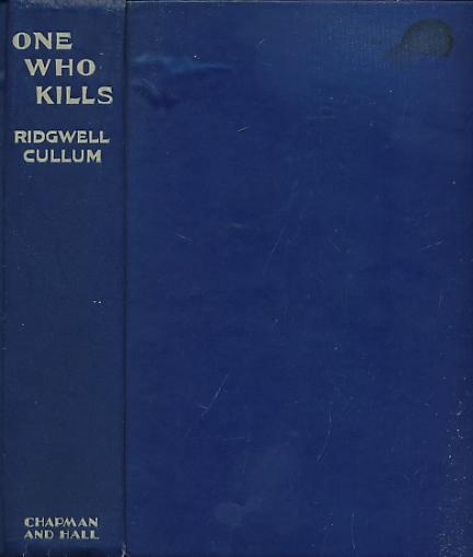 CULLUM, RIDGWELL - One Who Kills