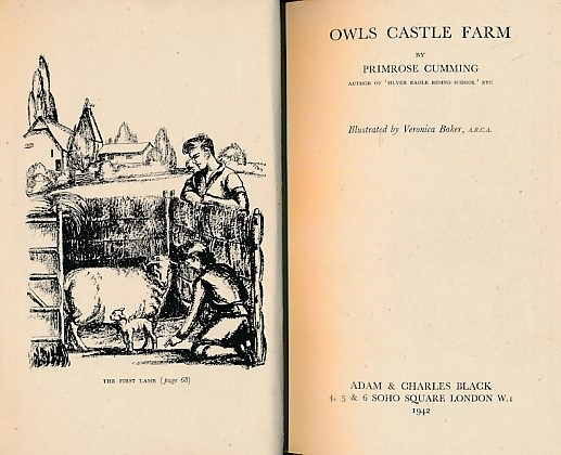 CUMMING, PRIMROSE; BAKER, VERONICA [ILLUS.] - Owls Castle Farm
