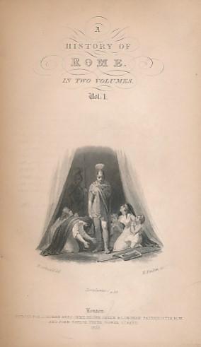 LARDNER, DIONYSIUS [ED.] - History of Rome, Volume I. The Cabinet Cyclopaedia