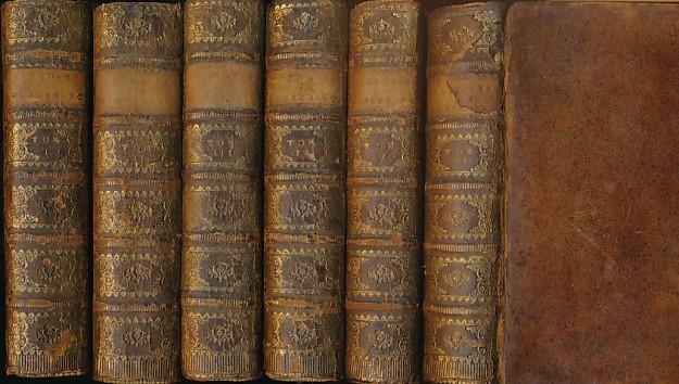 DE ROCHES, J B - Histoire de Dannemarc, Avant Et Depuis L'Etablissement de la Monarchie. Six Volume Set