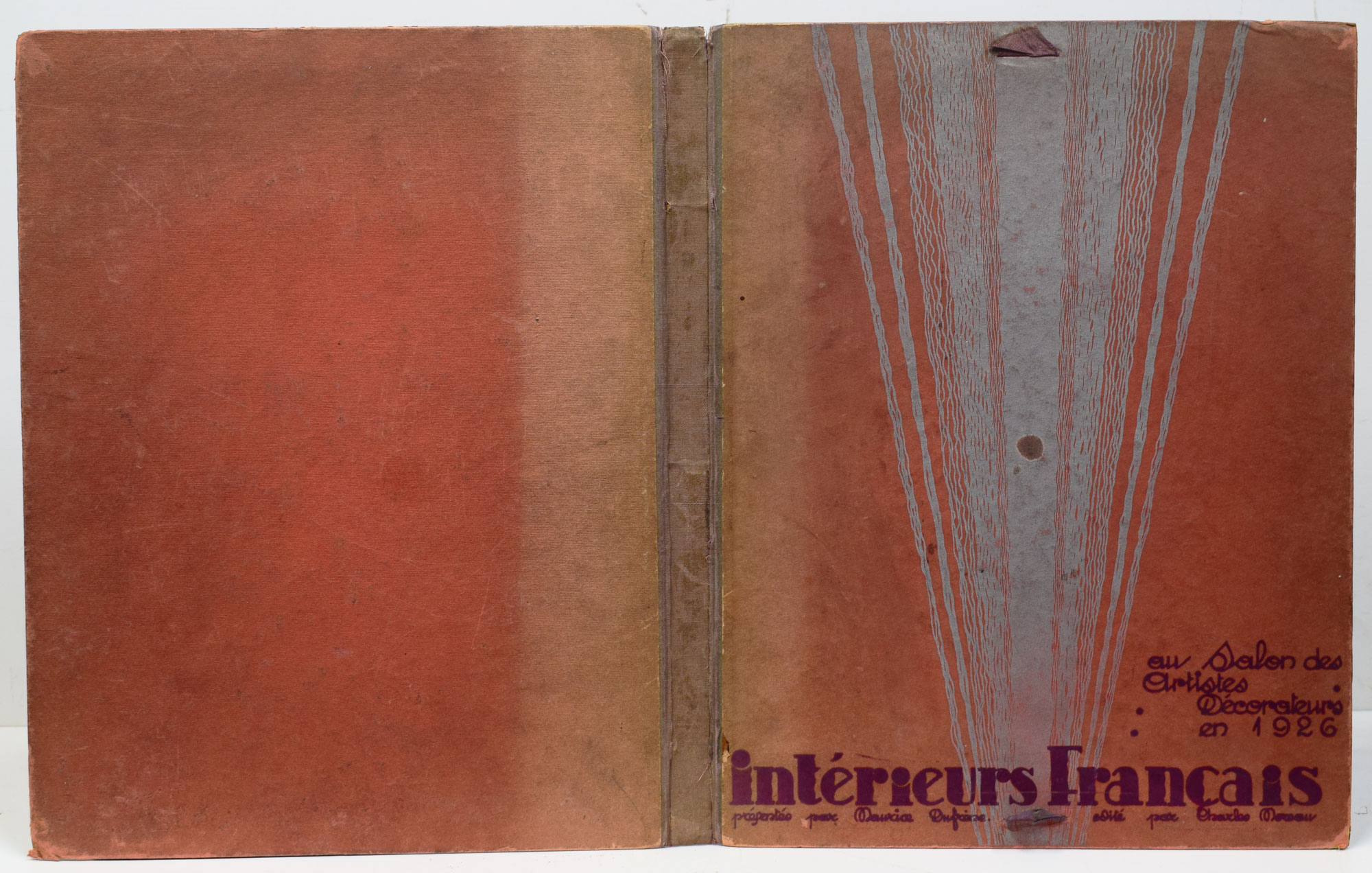 DUFRENE, MAURICE; MOREAU, CHARLES - Interieurs Francais en Salon Des Artistes Decorateurs en 1926