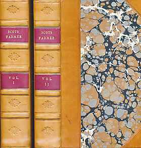 EDITOR - The Scots Farmer. Or Select Essays on Agriculture Adapted to the Soil and Climate of Scotland. Two Volumes