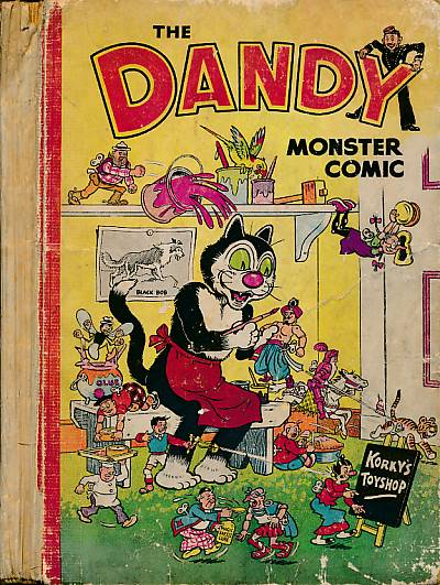CRIGHTON, JAMES; &C - The Dandy Monster Comic. 1952