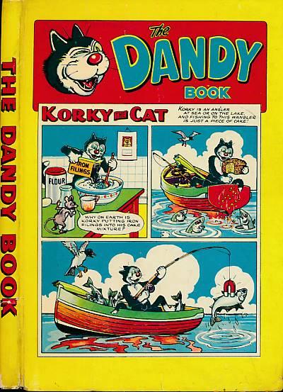 CRIGHTON, JAMES; &C - The Dandy Book: Annual 1958