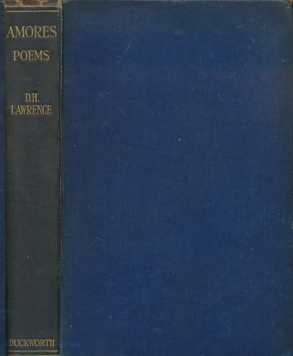LAWRENCE, D H - Amores Poems