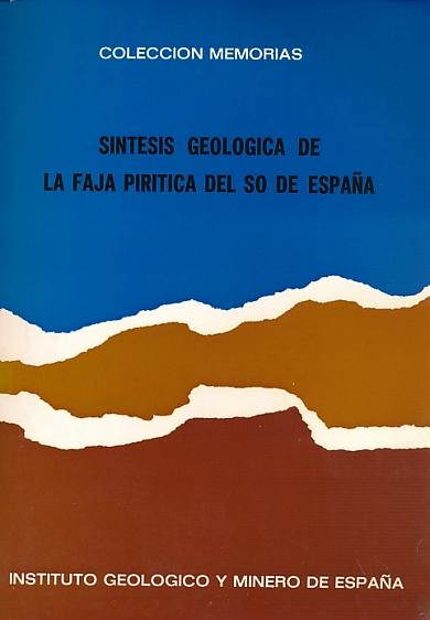 EDITOR - Sintesuis Geologica de la Faja Piritica Del So de Espana