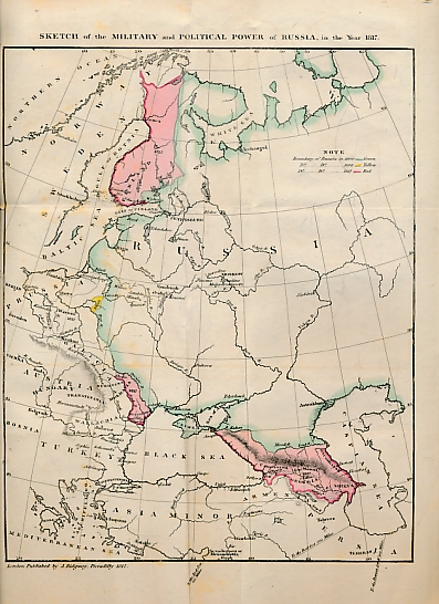 [WILSON, ROBERT THOMAS] - A Sketch of the Military and Political Power of Russia, in the Year 1817