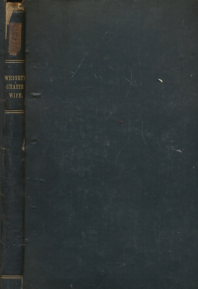 ADAM OF COBSAM; FURNIVAL, FREDERICK J [ED.] - The Wright's Chaste Wife. Early English Text Society