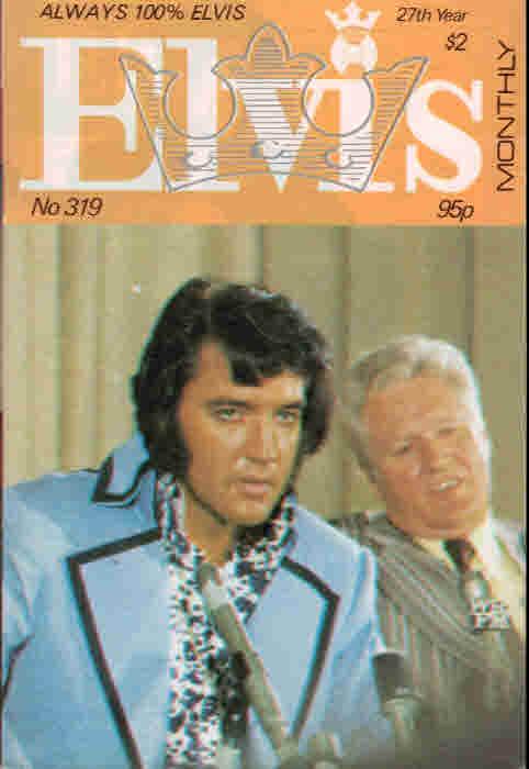 EDITOR - Elvis Monthly, August 1986. No 319