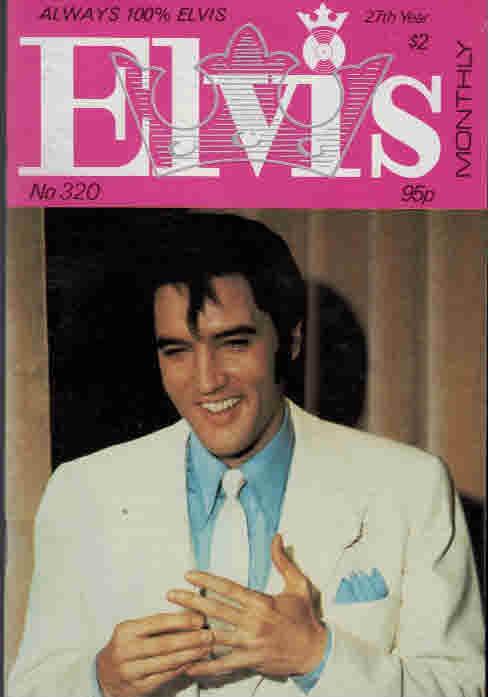 EDITOR - Elvis Monthly, September 1986. No 320