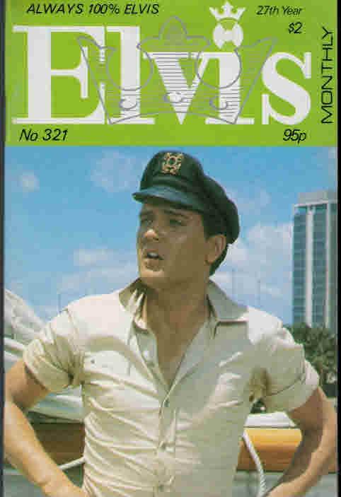 EDITOR - Elvis Monthly, October 1986. No 321
