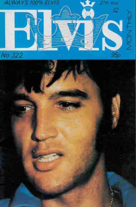 EDITOR - Elvis Monthly, November 1986. No 322