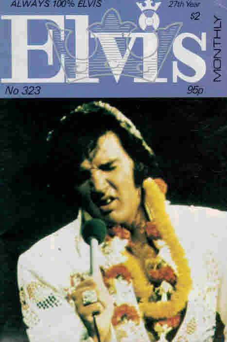 EDITOR - Elvis Monthly, December 1986. No 323