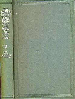 EDITOR - The Flock Book of Border Leicester Sheep. Vol XL [40]. 1938