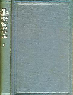 EDITOR - The Flock Book of Border Leicester Sheep. Vol XLII [42]. 1940