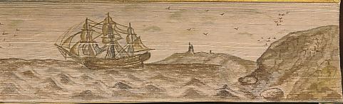 CRABBE, W - Works of the Rev. George Crabbe. Tales. Two Volumes in One. [Fore-Edge Painting]