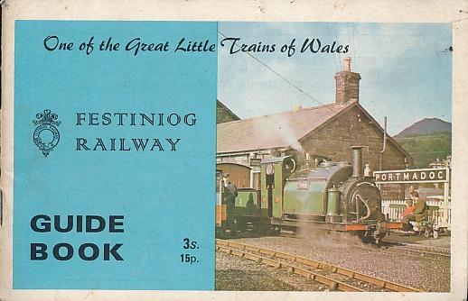 [GARRAWAY, ALAN] ED - Festiniog Railway Guide Book. 1970