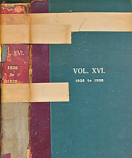 EDITOR - The Foxhound Kennel Stud Book. Volume the Sixteenth [XVI]. 1926 to 1928. Containing a List of One Hundred and Seventy-Five Packs of Foxhounds