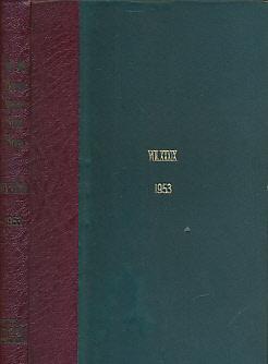 W-FITZWILLIAM, J [ED.] - The Foxhound Kennel Stud Book. Volume XXXIX. 1953