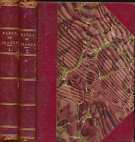 CRAWFORD, FRANCIS MARION - The Witch of Prague. Two Volume Set. Tauchnitz Edition